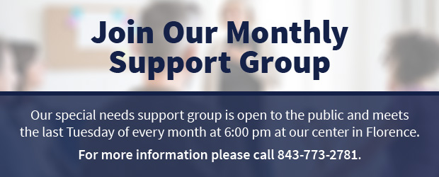 Join Our Monthly Support Group