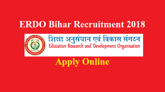 erdo bihar recruitment 2018