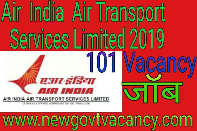Air India Air Transport Services Limited 2019