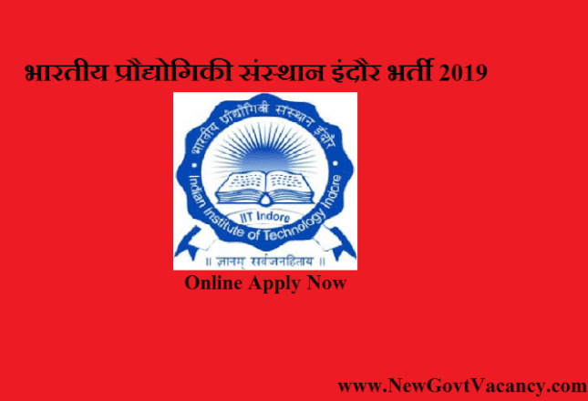 IIT Indore Recruitment 2019