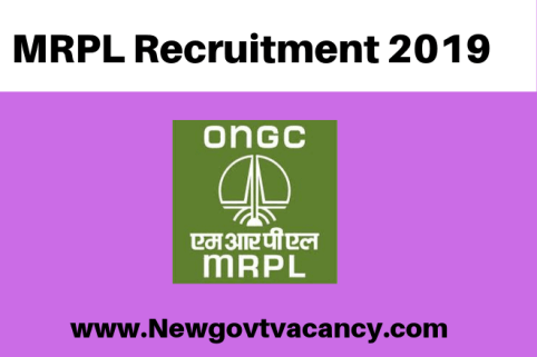 MRPL Recruitment 2019