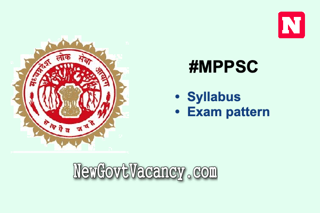 MPPSC Syllabus 2020 Exam Pattern