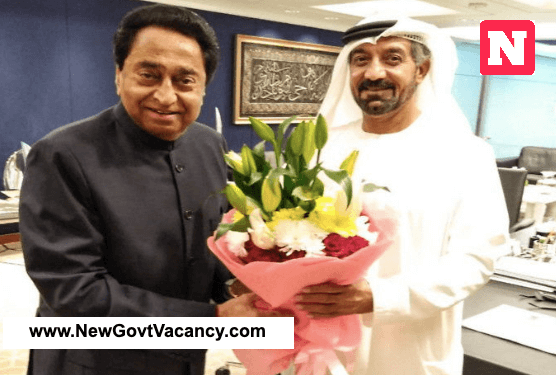 indore dubai flight discussion kamalnath