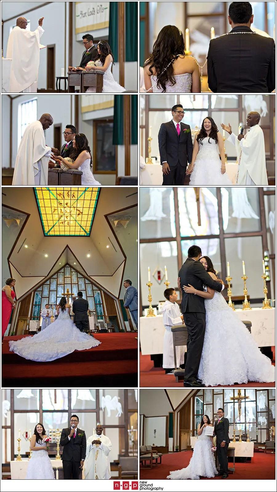 St Andrew Catholic Church  Evelyn  Eduardo  Cape Coral Weddings  Wedding Photography Naples