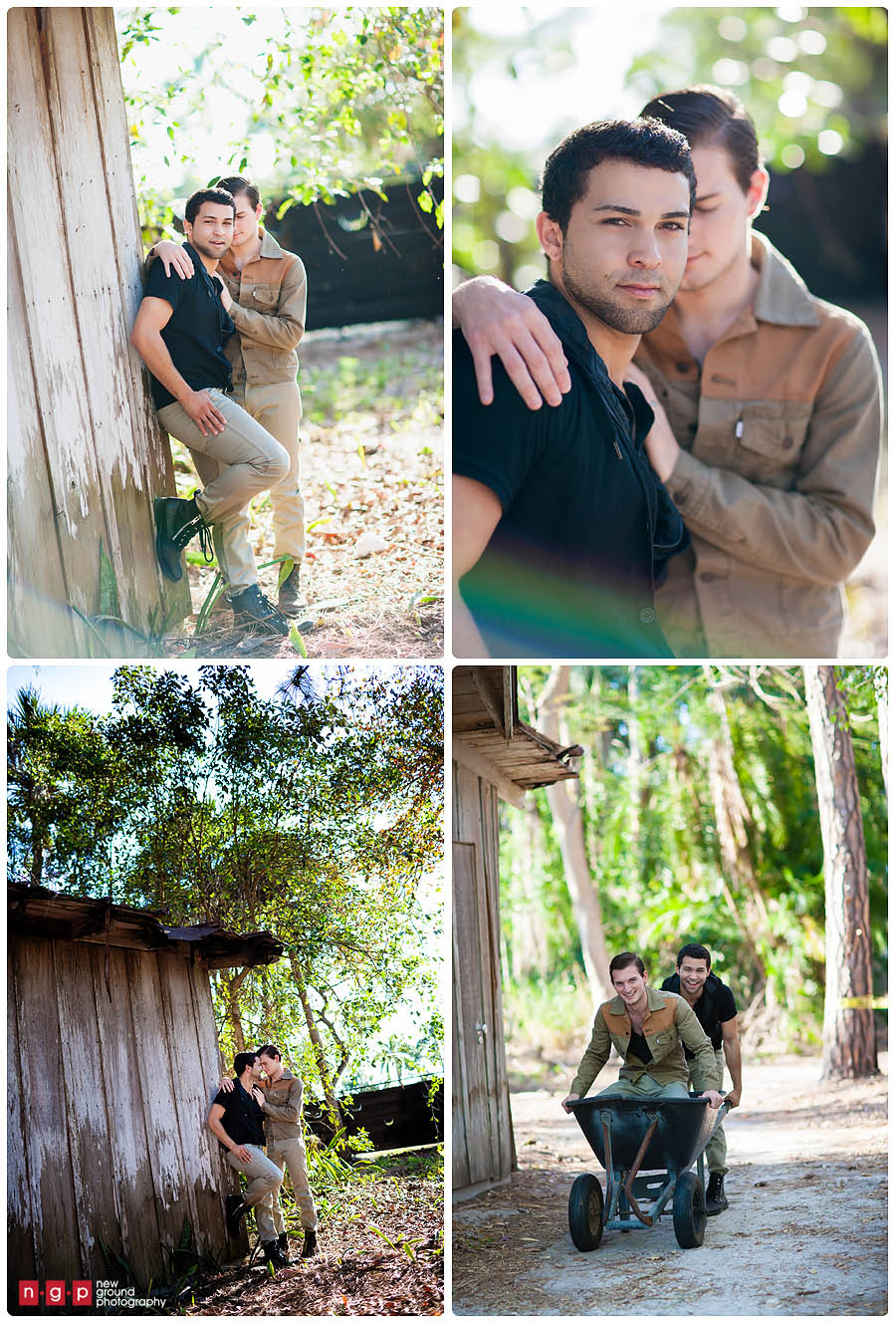 Naples Zoo Engagement  Nik  Carlos  Naples Engagement Photography  Wedding Photography