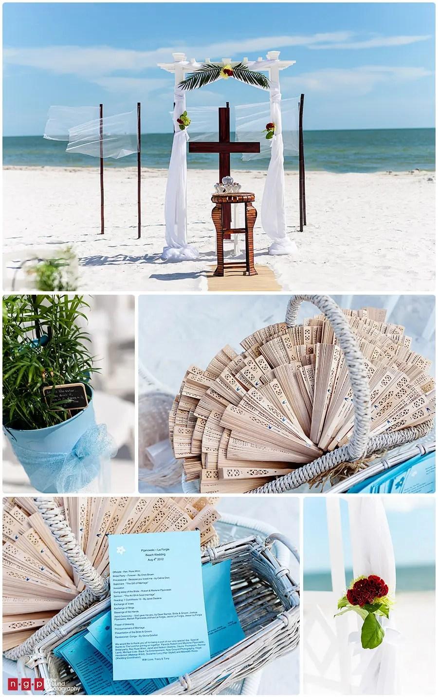 Pink Shell Resort Wedding  Tracy  Tony  Florida Beach Wedding  Wedding Photography Naples FL