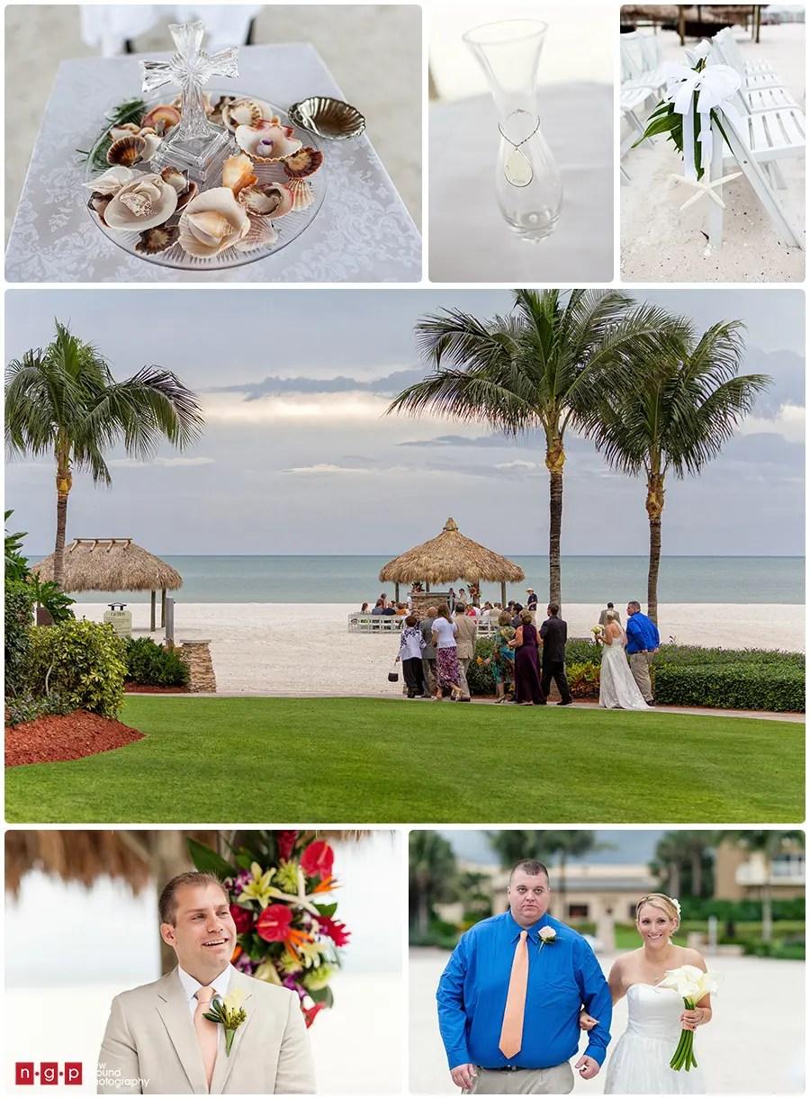 Marco Island Marriott Wedding Alicia Steve Florida