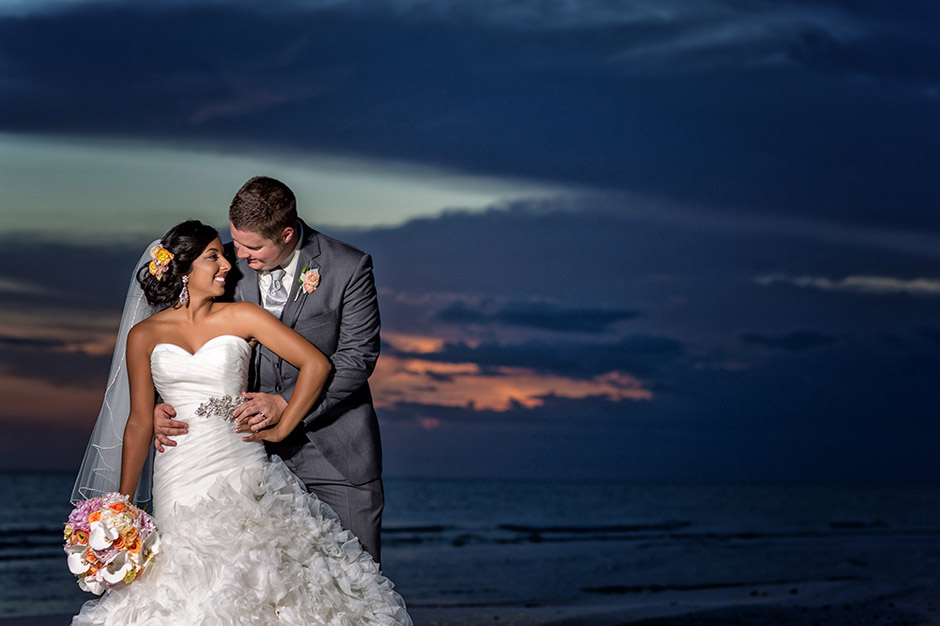 Marco Island Marriott Wedding Edina Sean Florida
