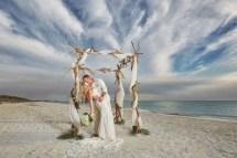 Barefoot Beach Wedding Valerie Patrick Naples