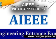 AIEEE WhatsApp Groups