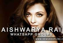 Aishwarya Rai WhatsApp Groups