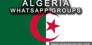 Algeria WhatsApp Group Links