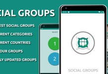 Social Groups the best WhatsApp Groups App
