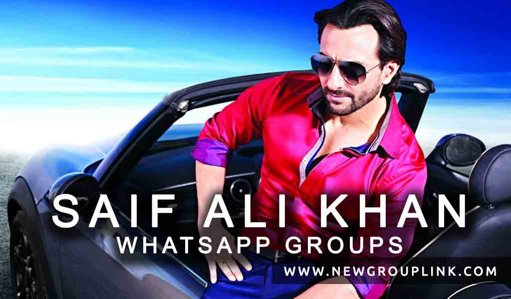 Saif Ali Khan WhatsApp Group Links to join