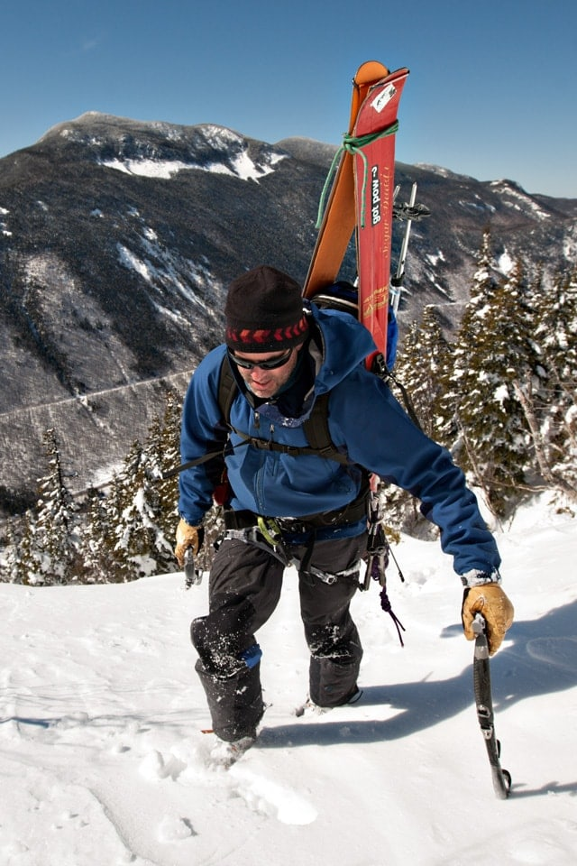 Jim Surette - New Hampshire climbing, skiing, and mountaineering guide.