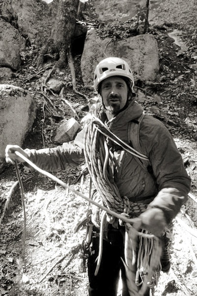 Joe Consavage - New Hampshire climbing, skiing, and mountaineering guide.