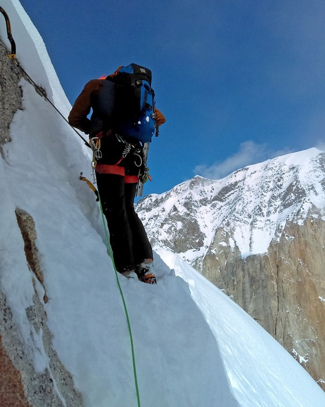 Ryan Driscoll - New Hampshire climbing, skiing, and mountaineering guide.