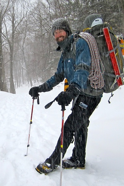Sean Lorway - New Hampshire climbing, skiing, and mountaineering guide.