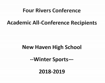 4RC Announces Academic All Conference Winter Sport