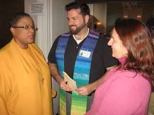 New Haven pastor fights fo gay rights.