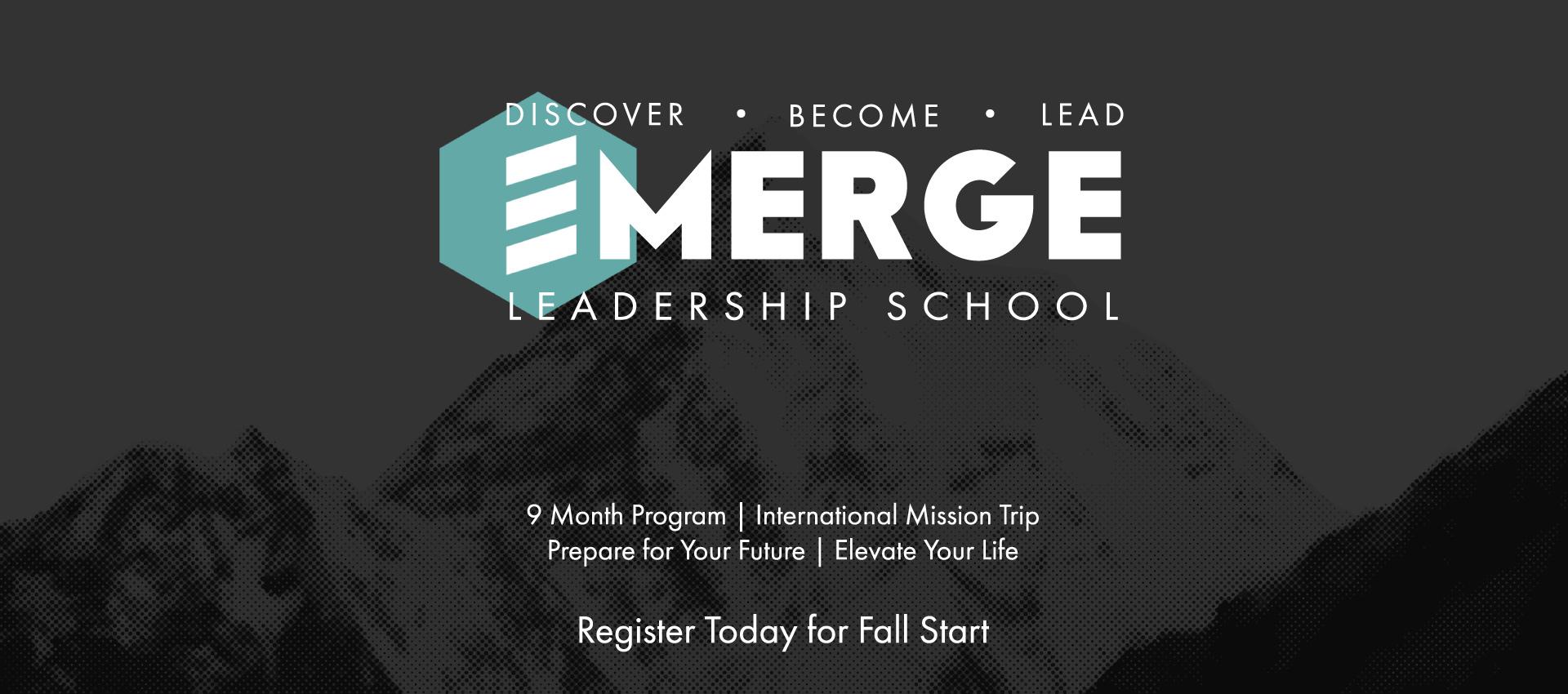 Emerge Leadership School