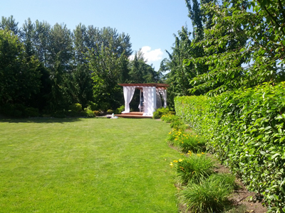 Fife Outdoor Weddings Gazebo