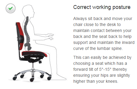 proper chair posture at computer leg replacements wood how to maintain sitting | new health advisor
