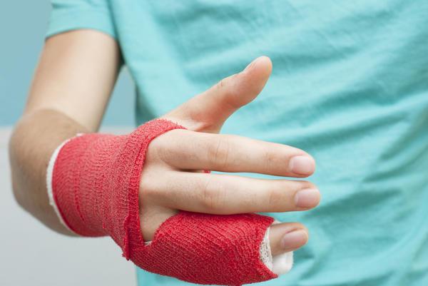 Finger Ligament Torn Joint