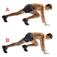 Image result for mountain climbers exercise pix