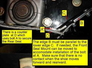 Front and Rear Seal Joint