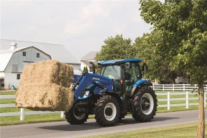 New Holland T6 Dynamic Command™ Tractor Lineup