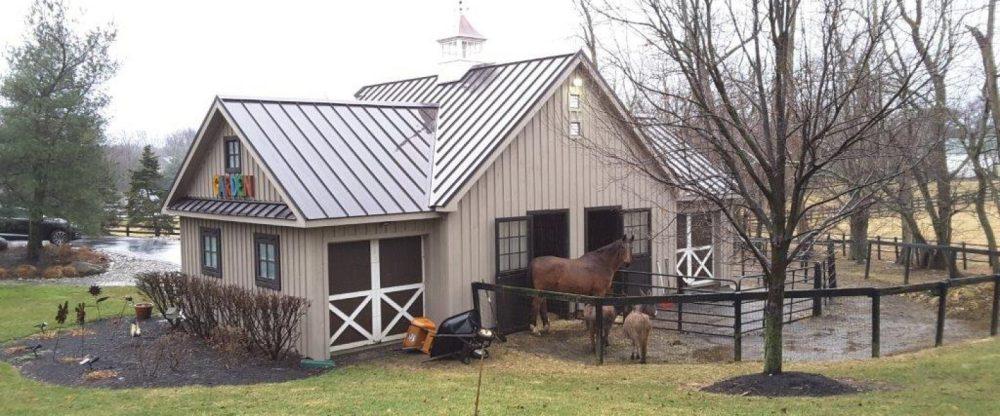 medium resolution of horse barn building