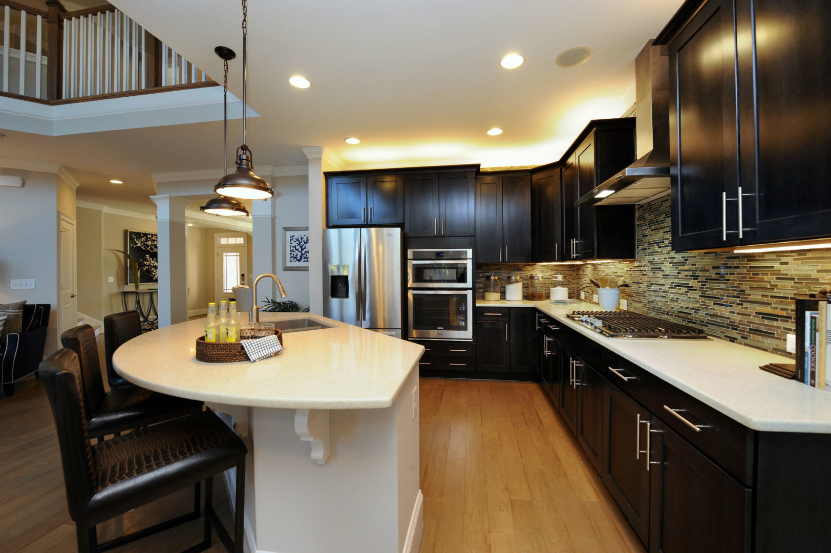 kitchens in new homes outdoor kitchen prefab kits merging rustic warmth with modern simplicity