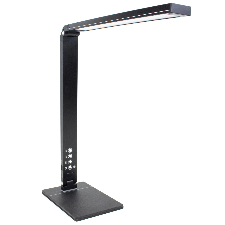 10W Adjustable LED Desk Lamp w Color Changing Dimming