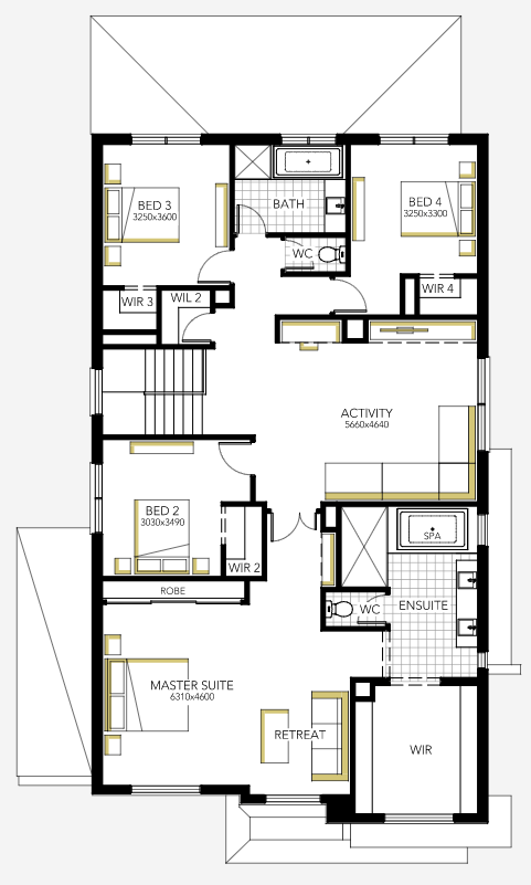 The Sorrento 43 Display Home by Carlisle Homes