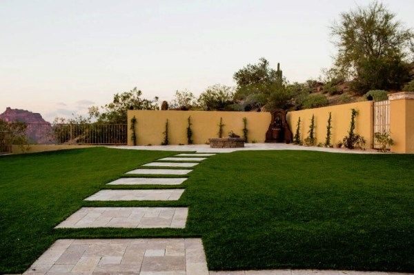 mesa and gilbert az custom landscaping