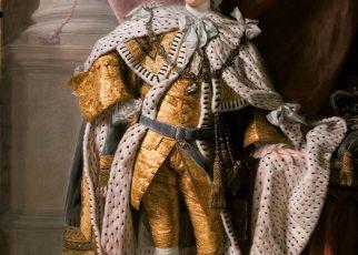 Allan Ramsay - King George III in coronation robes