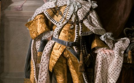 Allan Ramsay - King George III in coronation robes