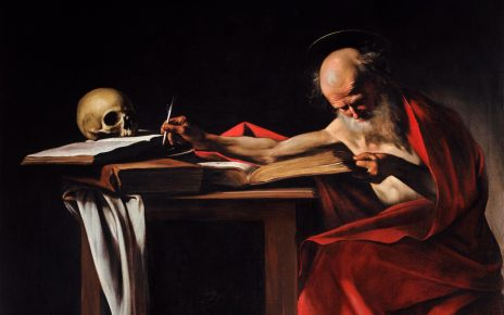 Saint Jerome Writing-Caravaggio