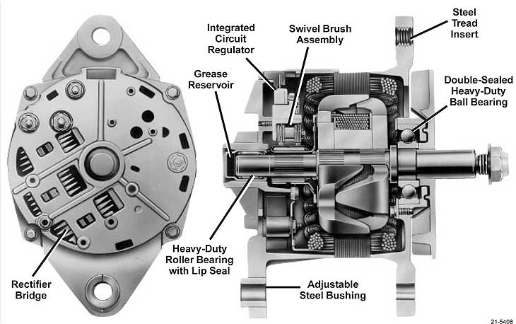 Alternator Wiring Diagram Delco Cs Alternator Wiring Diagram Wiring