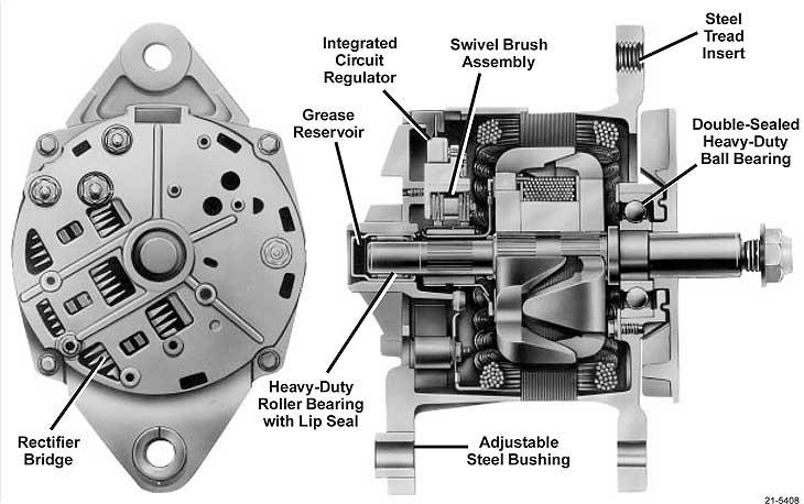 21si alternator wiring diagram