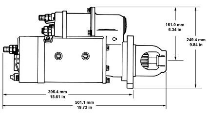42MT Starter motor specifications :: Delco Remy