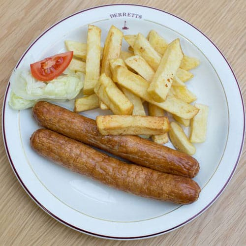 Sausages (2) & Chips