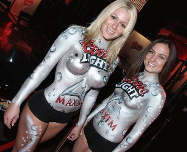 body painting female