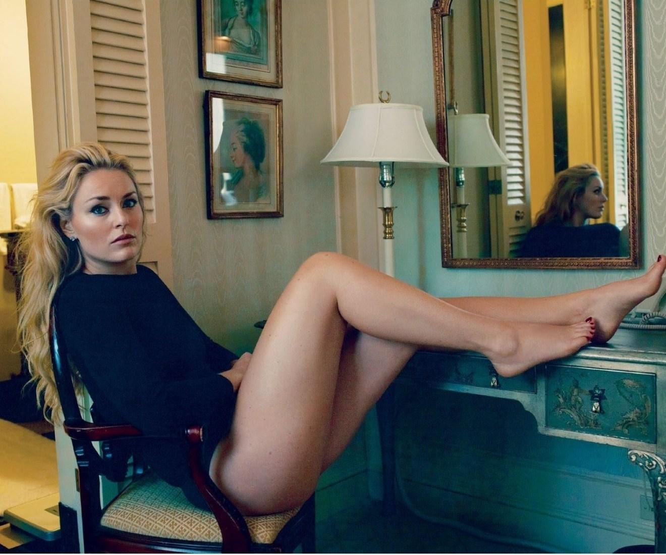 lindsey vonn sexy legs