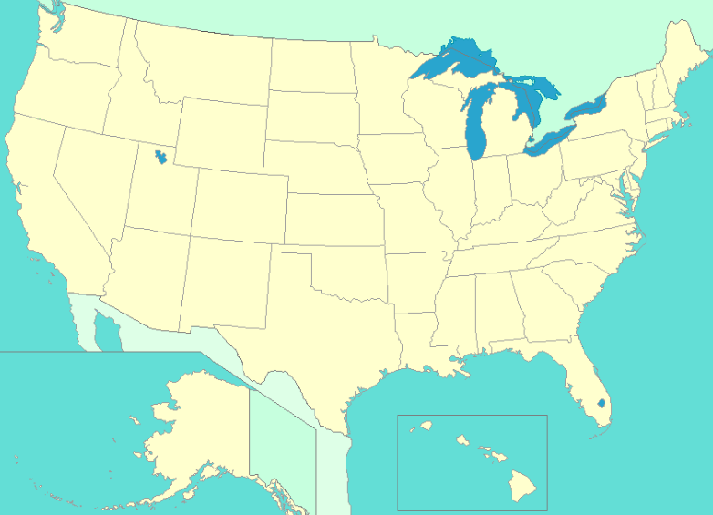 Map Of United States With States Labeled Thefreebiedepot US Map - The us map labeled