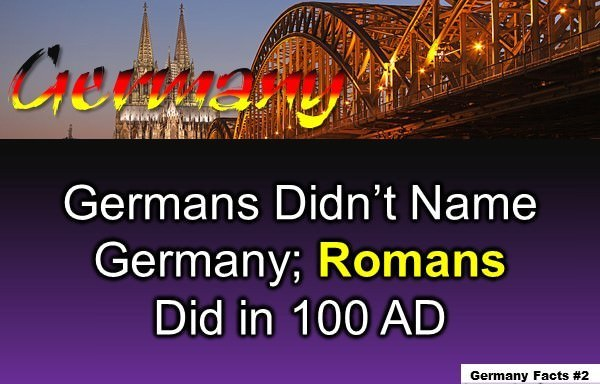 Germany Facts: 10 Interesting Facts about Germany