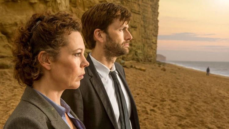 """Olivia Coleman und David Tennant spielen die Hauptrollen in """"Broadchurch"""" (Foto: Netflix)"""