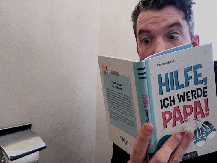 """Klolektüre: Christian Hannes Taschen- und Geschenkebüchlein """"Hilfe, ich werde Papa!"""""""