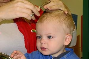 Baby Haircut New Kids Center